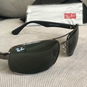 85f85d6087f ... coupon code for ray ban accessories mens rayban 3445 sunglasses 4cc94  bb25b